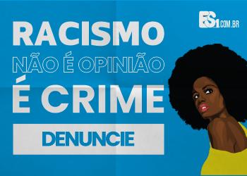 banner racismo